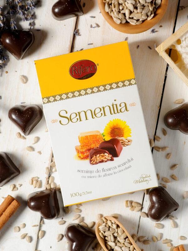 Seminte in ciocolata