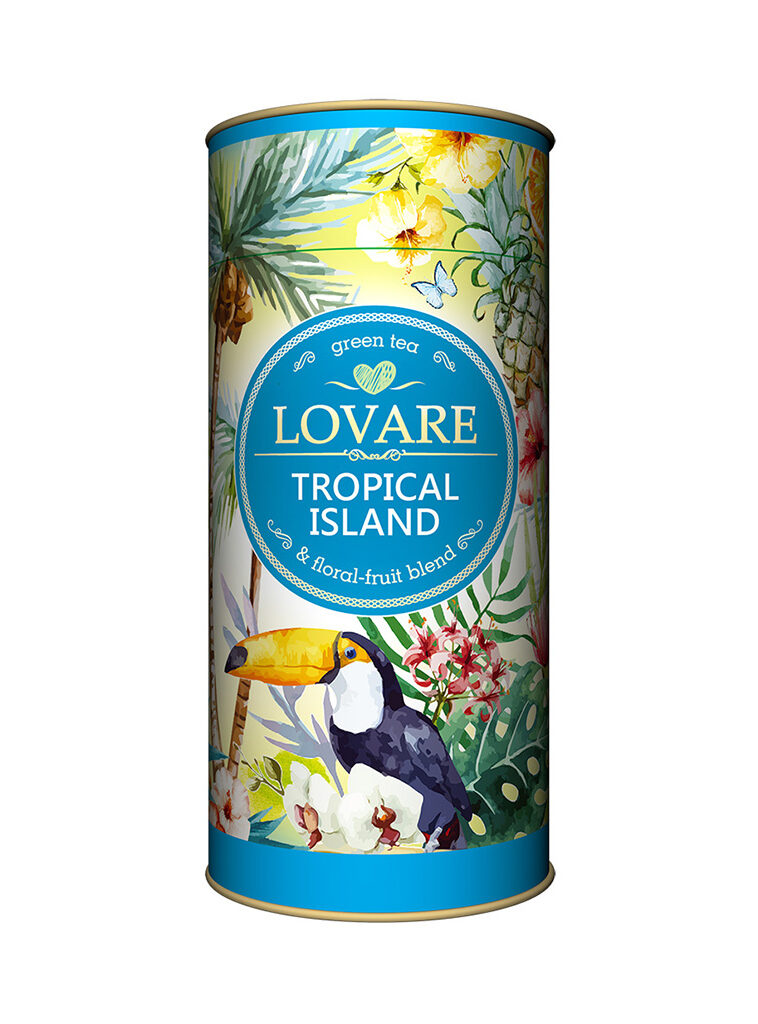 """Tropical Island"" Tub"