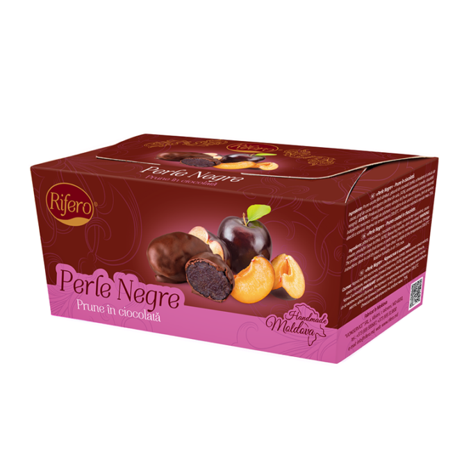 "Prune in ciocolata ""Perle Negre"" 230g"