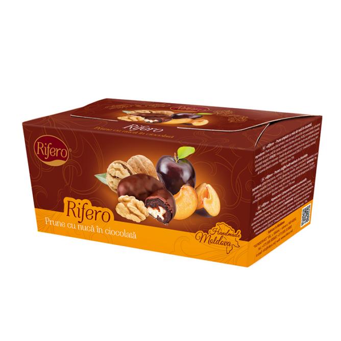 Prune cu nuca in ciocolata Rifero 230g